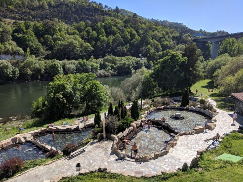 Outriz thermal baths at Ourense