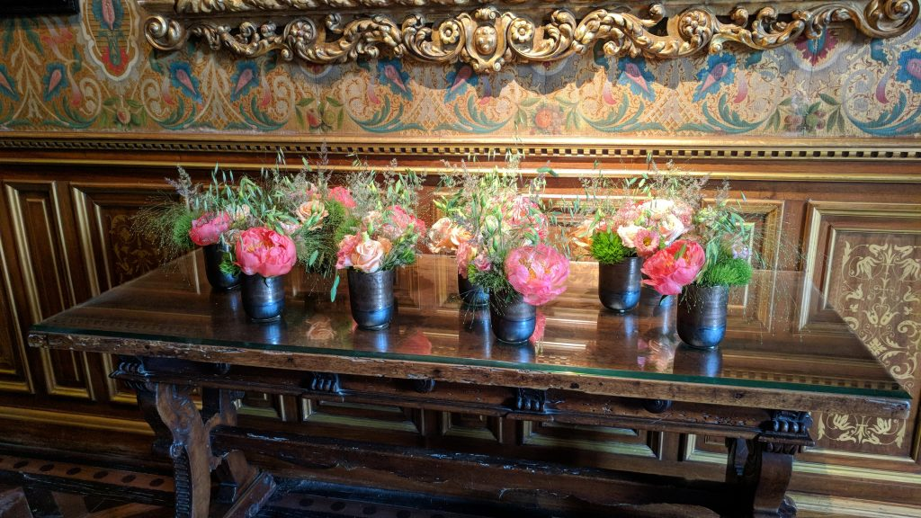 Flowers at Chenonceaux
