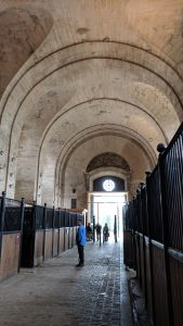 The Grand stables inside