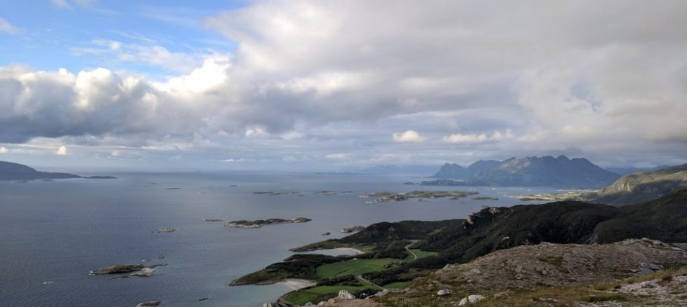 View looking north from Bodø