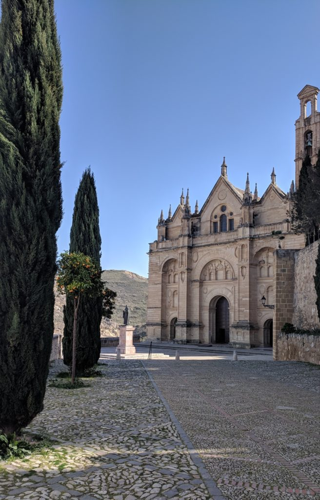 The church by the Alcazaba, Antequera