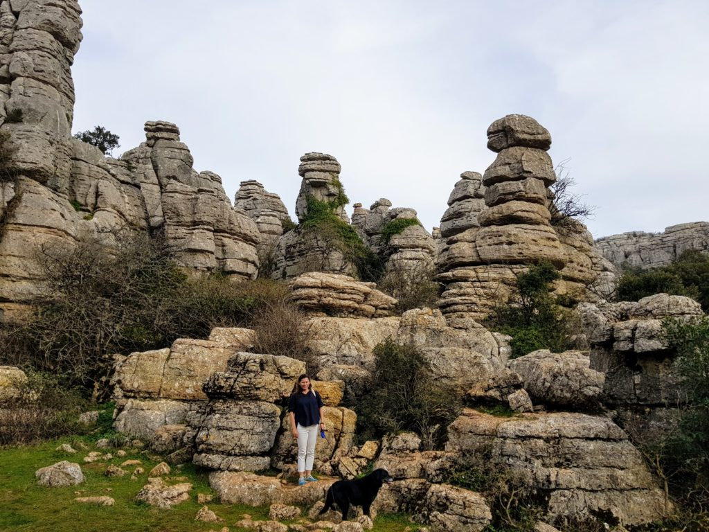 Limestone formations at El Torcal
