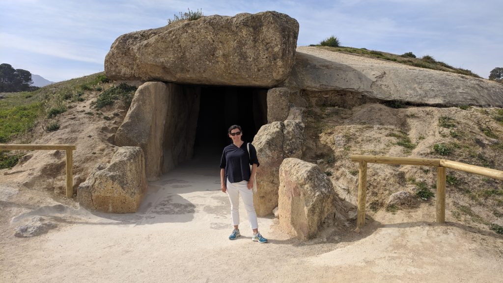 Entrance to the Dolmen tomb, Antequera