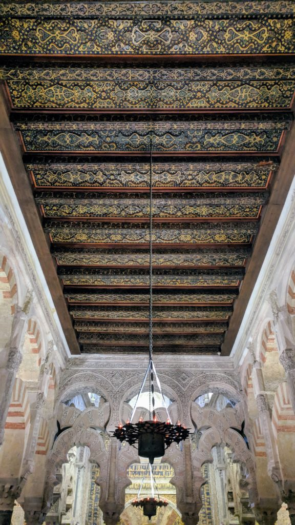 Beautiful ceiling rafters