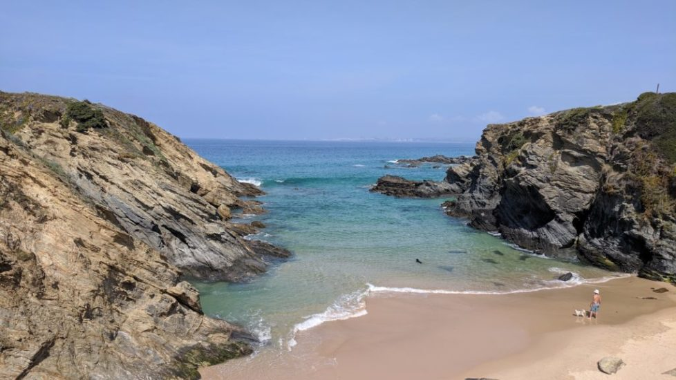 Gorgeous cove near Porto Covo